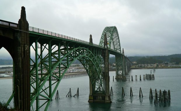 Newport Bridge Oregon